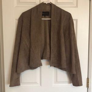 BCBG sueded jacket